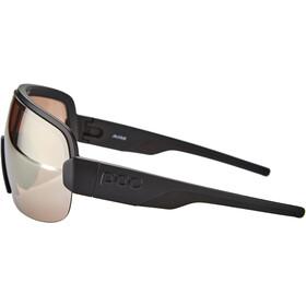 POC Aim Occhiali da sole, nero/argento